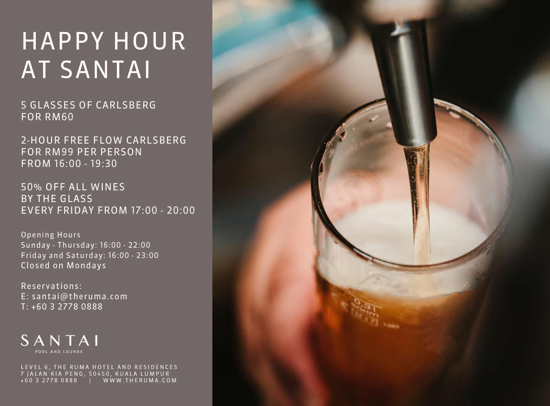 Happy Hour at Santai